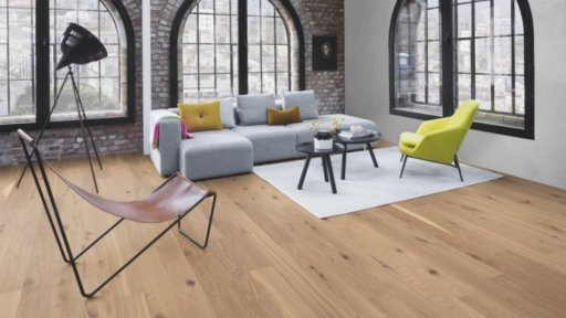 Boen Vivo Oak Engineered Flooring, Live Pure Lacquered, 138x3.5x14 mm Image 1