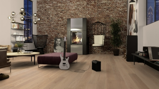 Boen Oak Andante Engineered Flooring, Live Pure Lacquered, 14x181x2200 mm Image 2