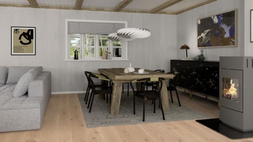 Boen Animoso Oak Engineered Flooring, Live Pure Lacquered, 14x181x2200 mm Image 2