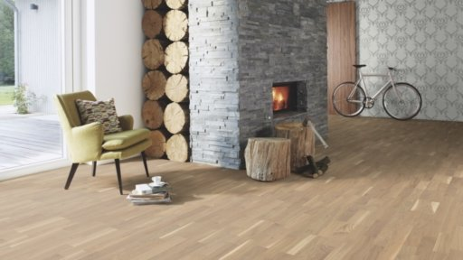 Boen Finale Oak Engineered 3-Strip Flooring, Live Pure Lacquered, 215x3x14 mm Image 2