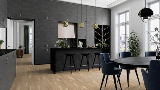 Boen Finale Oak Engineered 3-Strip Flooring, Live Pure Lacquered, 215x3x14 mm Image 3