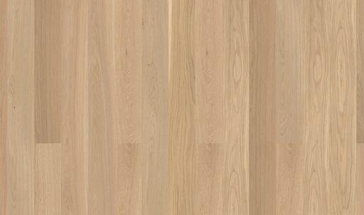 Boen Andante Oak Engineered Wood Flooring, White, Brushed, Lacquered, 14x209x2200 mm Image 1