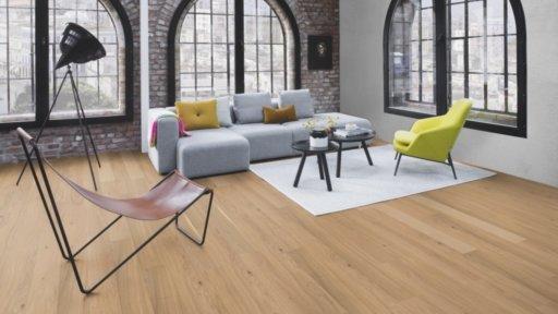 Boen Finesse Oak Parquet Flooring, Rustic, Live Matt Lacquered, 10.5x135x1350 mm Image 1