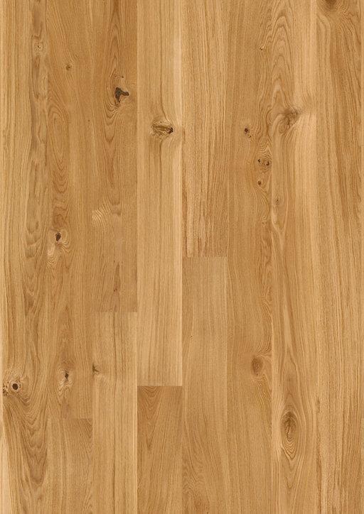 Boen Finesse Oak Parquet Flooring, Rustic, Live Natural Oiled, Brushed, 2V Bevel, 10.5x135x1350 mm Image 1