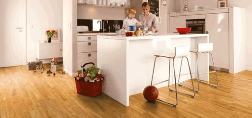 Boen Andante Oak Engineered Flooring, Matt Lacquered, 138x3.5x14 mm Image 1