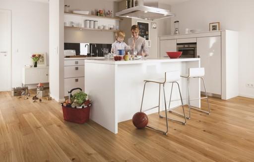 Boen Vivo Oak Engineered Flooring, Matt Lacquered, 138x3.5x14 mm Image 1