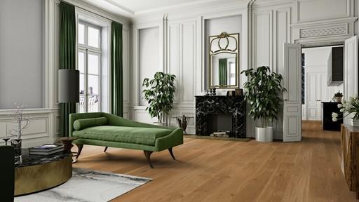 Boen Animoso Oak Engineered Flooring, Oiled, 209x3.5x14 mm Image 1