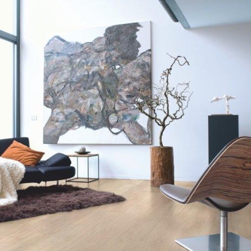 QuickStep ELIGNA Light Grey Varnished Oak Laminate Flooring 8 mm Image 1