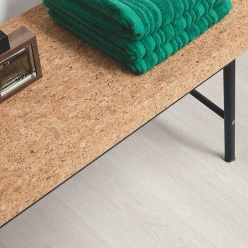 QuickStep ELIGNA Estate Oak Light Grey Laminate Flooring 8 mm Image 2