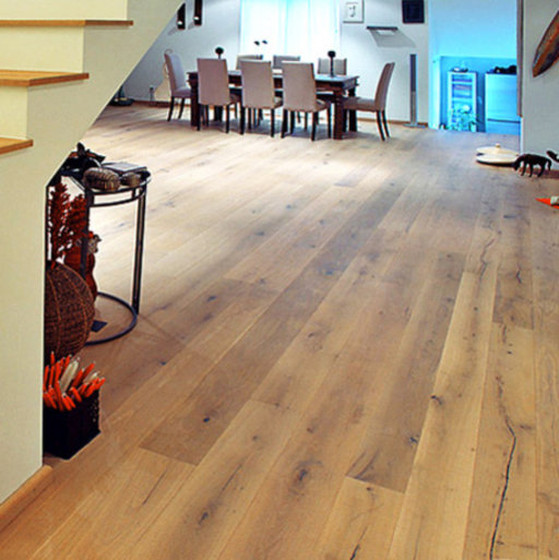 Elka Super Rustic Oak Engineered Flooring, Oiled, 190x3x14 mm Image 1