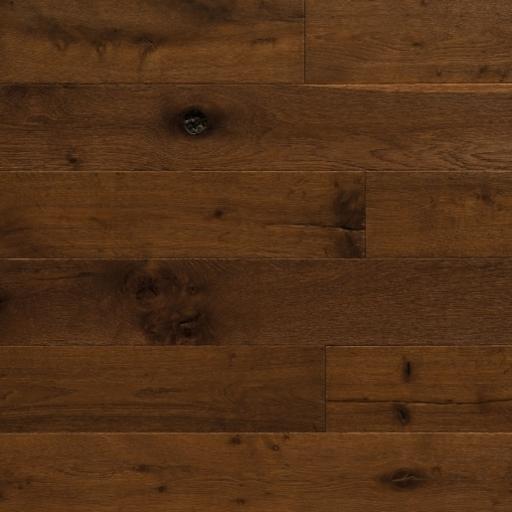 Elka Copper Oak Smoked Hand Sawn Engineered Flooring, 1860x189x20 mm Image 1