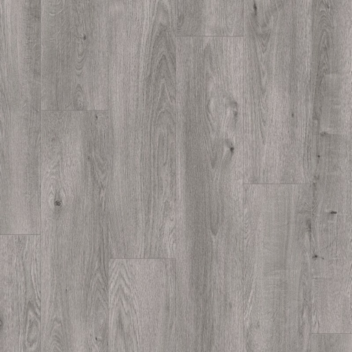 Elka Stone Grey Oak Laminate Flooring, 12 mm Image 2
