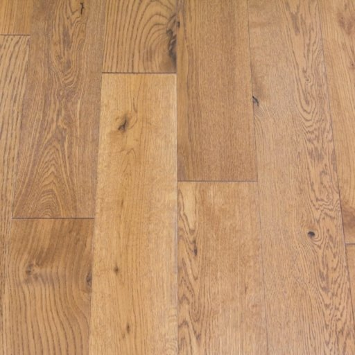 V4 Eiger Petit Golden Stained Engineered Oak Flooring, Rustic, Brushed & Oiled, 125x18xRL mm Image 2