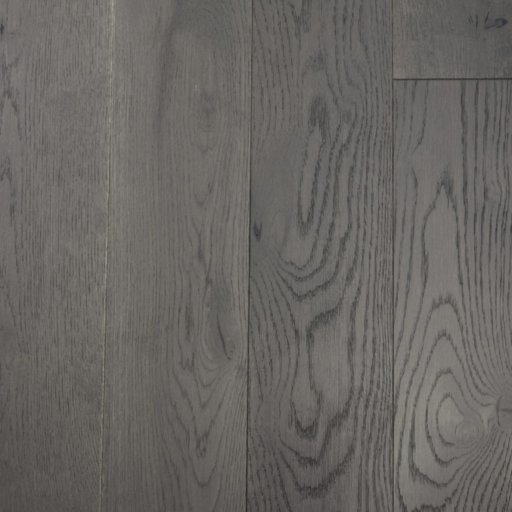 V4 Eiger Petit Grey Stained Engineered Oak Flooring, Rustic, Brushed & Lacquered, 150x18xRL mm Image 2
