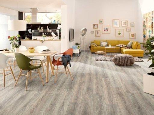EGGER Classic Bardolino Oak Grey Laminate Flooring, 192x7x1292 mm Image 1