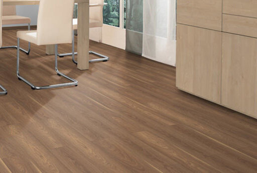 EGGER Classic Mansonia Walnut Laminate Flooring, 192x7x1292 mm Image 2