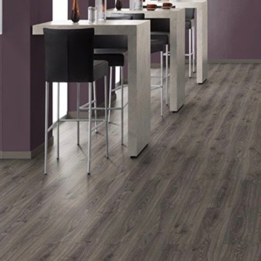 EGGER Classic Dark Lasken Oak Laminate Flooring, 192x7x1292 mm Image 2