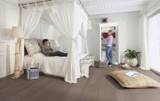 Boen Oak Arizona Engineered 3-Strip Flooring, Matt Lacquered, 215x3x14 mm Image 1