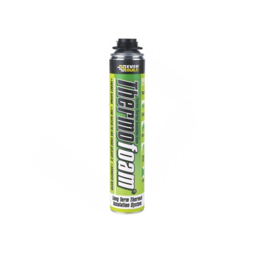 Everbuild Thermofoam, Off White, 750 ml Image 1