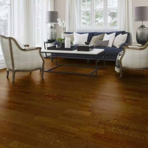 Boen Oak Oregon Engineered 3-Strip Flooring, Matt Lacquered, 215x3x14 mm Image 1