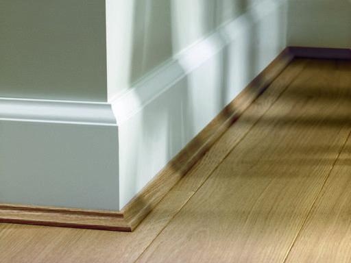 Elka Aqua Protect, Matching Scotia Beading For Laminate Floors, 2.4 m Image 1