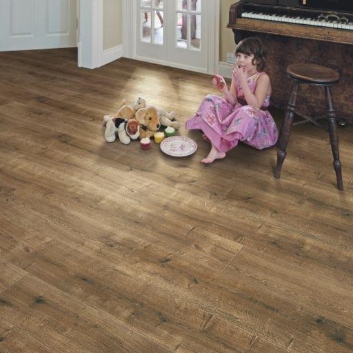Elka Smoked Oak, Aqua Protect, Laminate Flooring, 8 mm Image 2