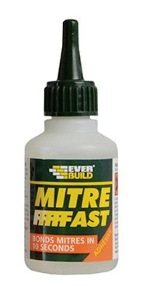 Everbuild Mitre Fast Adhesive Bottle, 50 gr Image 1