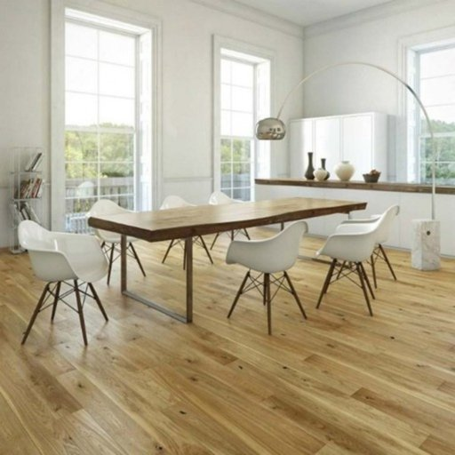 Kersaint Cobb Fjor Svar Engineered Oak Flooring, Natural, Oiled, 180x2.5x14 mm Image 1