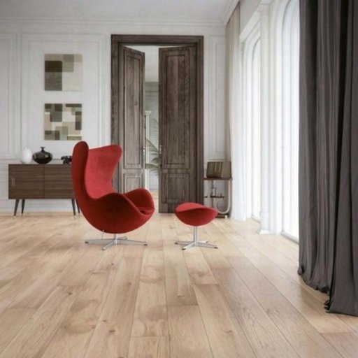 Kersaint Cobb Fjor Efni Engineered Oak Flooring, Rustic, Lacquered, 180x2.5x14 mm Image 1