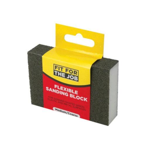 Medium-Coarse Flexible Sanding Block Image 1