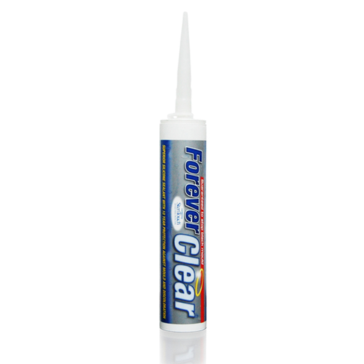 Everbuild Forever Clear Sanitary Silicone Sealant, 295 ml Image 1