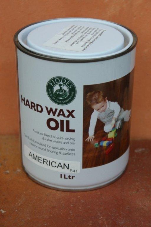 Fiddes Hardwax-Oil, American Finish, 1L Image 1