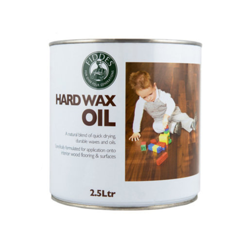 Fiddes Hardwax-Oil, Walnut Finish, 2.5L Image 1
