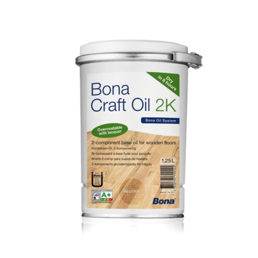 Bona Craft Oil, 2K, Graphite, 1.25 L Image 1