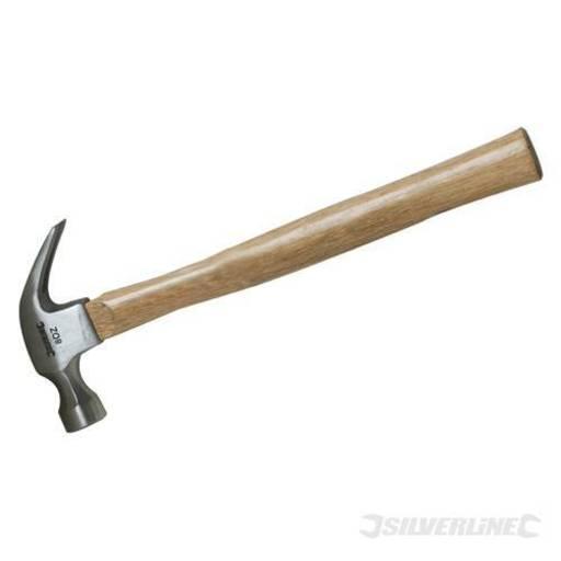 Hardwood Shaft Claw Hammer, 16 oz Image 1