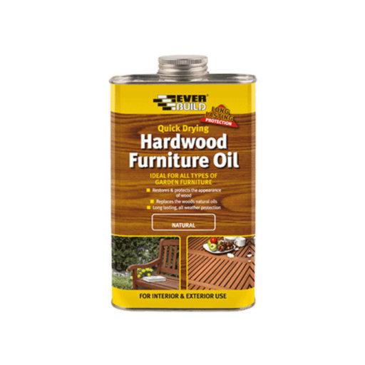 Hardwood Furniture Oil, Natural, 500 ml Image 1
