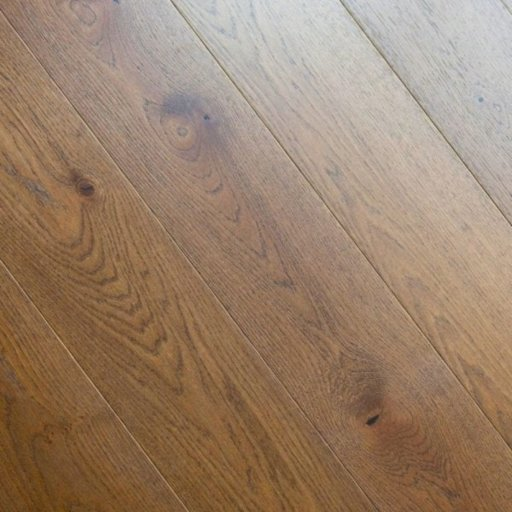 V4 Abinger Engineered Oak Flooring, Rustic, Brushed Stained & Matt Lacquered, 190x14x1900 mm Image 2