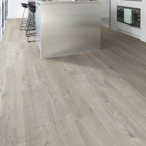 QuickStep Impressive Soft Oak Grey Laminate Flooring, 8 mm Image 1