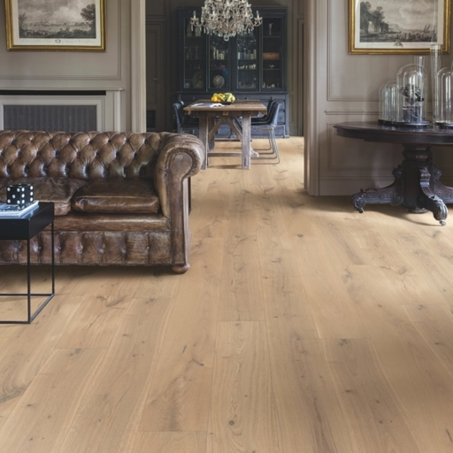 QuickStep Imperio Genuine Oak Extra Matt Engineered Flooring, Matt Lacquered, 220x3x14 mm Image 1