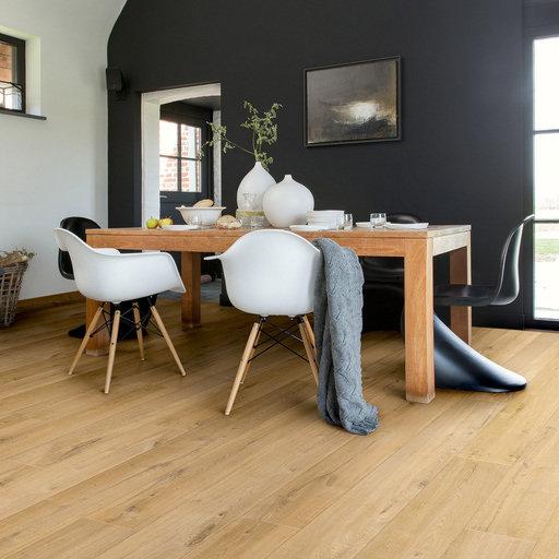 QuickStep Impressive Ultra Soft Oak Natural Laminate Flooring, 12 mm Image 1