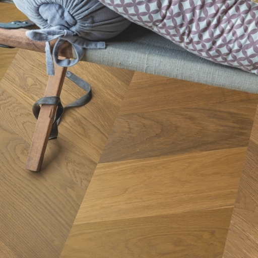 QuickStep Intenso Traditional Oak Engineered Parquet Flooring, Oiled, 310x14x1050 mm Image 2