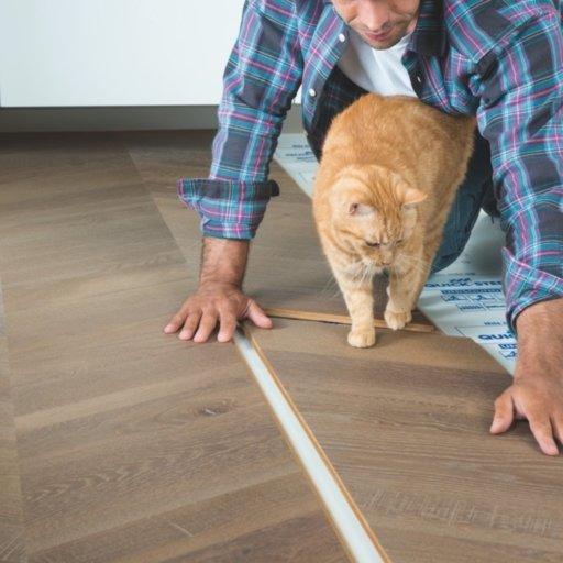 QuickStep Intenso Eclipse Oak Engineered Parquet Flooring, Oiled, 310x14x1050 mm Image 2