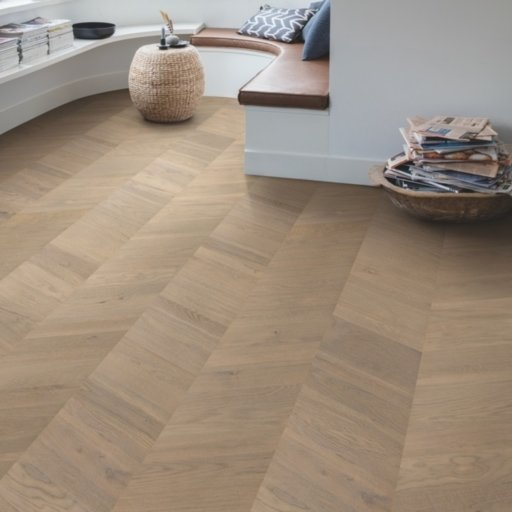 QuickStep Intenso Eclipse Oak Engineered Parquet Flooring, Oiled, 310x14x1050 mm Image 3