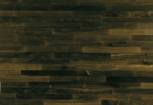 Junckers Solid Black Oak 2-Strip Flooring, Ultra Matt Lacquered, Harmony, 129x14 mm Image 3