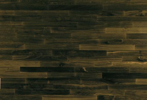 Junckers Solid Black Oak 2-Strip Flooring, Untreated, Harmony, 129x14 mm Image 1