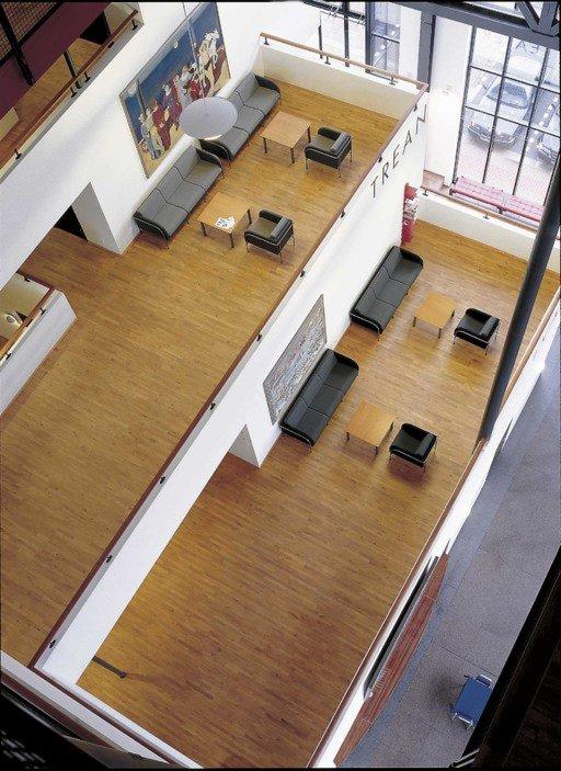 Junckers Beech SylvaKet Solid 2-Strip Wood Flooring, Oiled, Variation, 129x14 mm Image 1