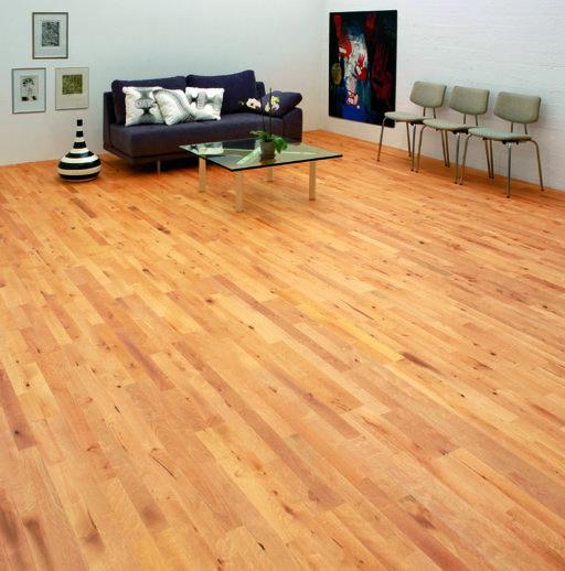 Junckers Beech Solid 2-Strip Wood Flooring, Oiled, Variation, 129x14 mm Image 1