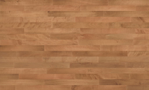 Junckers Beech SylvaRed Solid 2-Strip Wood Flooring, Silk Matt Lacquered, Classic, 129x14 mm Image 2