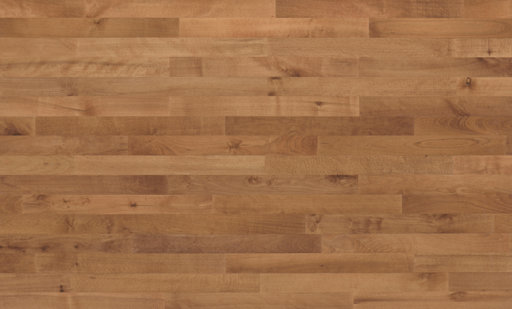 Junckers Beech SylvaRed Solid 2-Strip Wood Flooring, Silk Matt Lacquered, Harmony, 129x22 mm Image 3