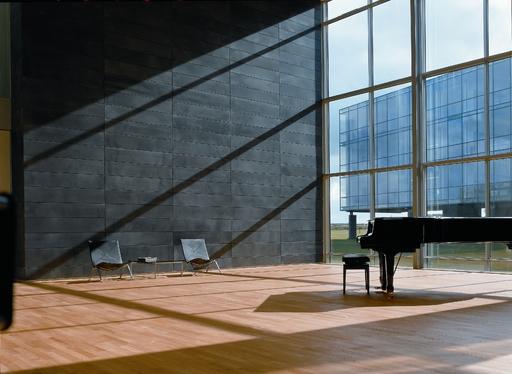 Junckers Light Ash Solid 2-Strip Wood Flooring, Untreated, Harmony, 129x14 mm Image 1